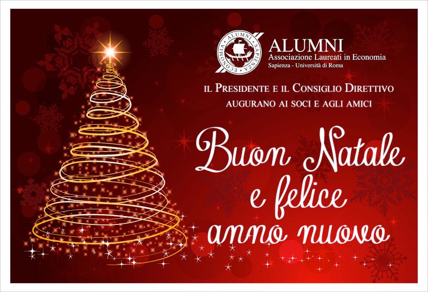 Auguri dall'Associazione Alumni