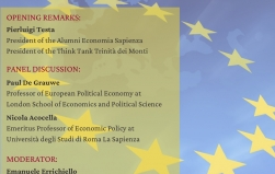WEBINAR  Reforming the European Monetary Union in 2020.  What Path for the EMU of tomorrow?
